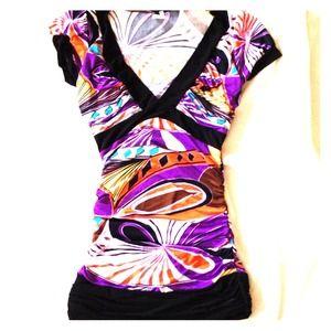 Dresses & Skirts - REDUCED!!!! Multi color mini dress