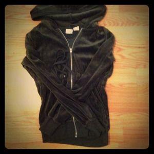 "'Blu Chic"" medium sized hoodie jacket"