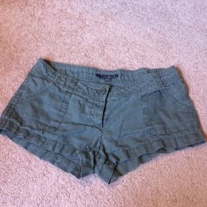 Forever 21 Pants - Forever 21 Dark Green Shorts