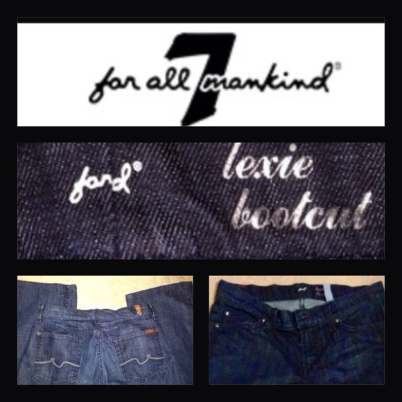 7 for all Mankind Denim - REDUCED 7 for all mankind jeans size 28 petite