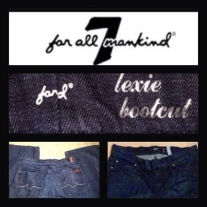 7 for all Mankind Jeans - REDUCED 7 for all mankind jeans size 28 petite