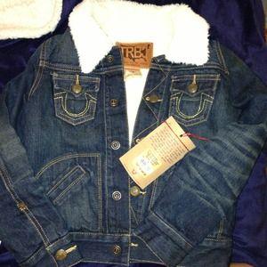 True religion jean jacket set