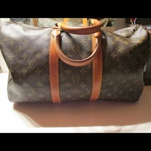 % Authentic Louis Vuitton Vtg Keepall 45 luggage