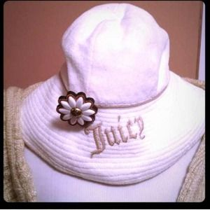 Juicy Couture Accessories - JUICY COUTURE HAT w/ REMOVABLE PIN