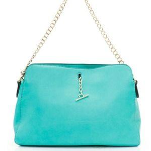Sweet Mint Handbag w/ Gold Hardware