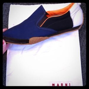 marni Shoes - REDUCED Authentic Marni Pointy Toe Flat Sneakers
