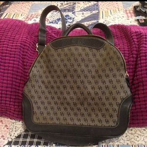  Authentic Dooney & Bourke Backpack
