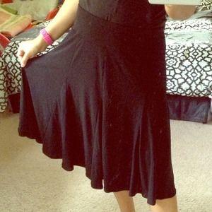 🔴SOLD🔴Black Ruffle Skirt