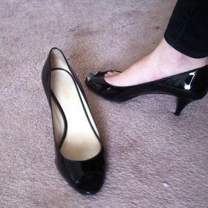 authentic Prada shoes pumps patent size 38.5 8.5