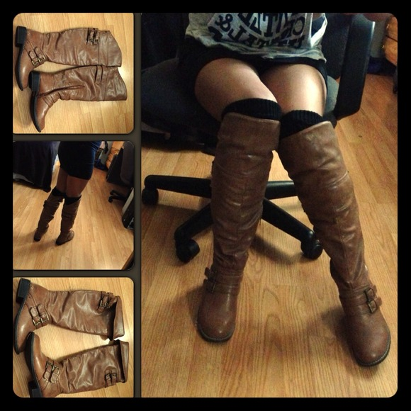 Charlotte Russe Boots - 💢😘💢 Cute brown boots