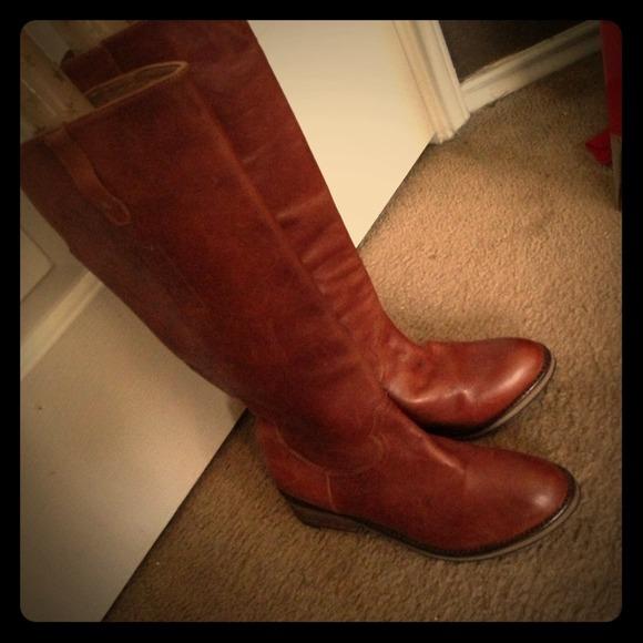 🎉 REDUCED Steve Madden Cognac Boots