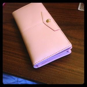 Clutches & Wallets - Pink long wallet