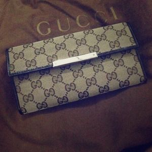 Gucci Continental Wallet-Brand New!