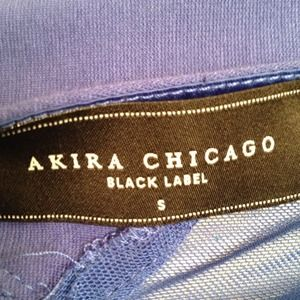 Akira Dresses - Sexy blue dress with mesh cut outs