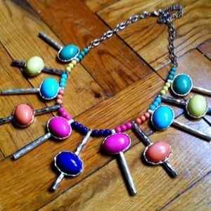 🎉HP🎉 Lollipop Statement Necklace