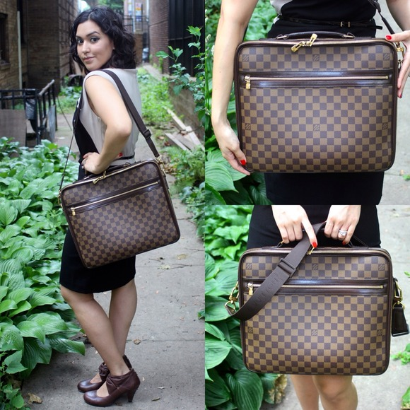 Louis Vuitton Handbags - HOST PICK Authentic Louis Vuitton Sabana Briefcase