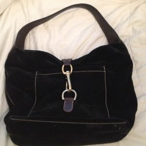 PRICE DROP!!! Black velvet Dooney & Bourke