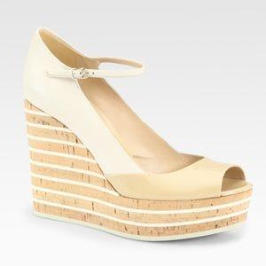 🍭🍭HOST  PICK Gucci Vernice Size 40 /10 Cream NWT