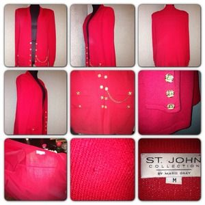 St. John by Marie Gray Sweaters - 👚St. John Collection By Marie Gray Medium