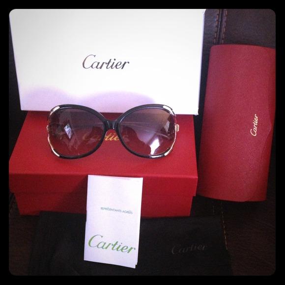 5a42707c2790 Cartier Accessories - 💯% Authentic Cartier Sunglasses