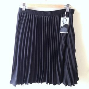 Jason Wu For Target Black Pleated Skirt