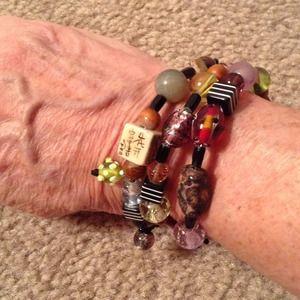 Glass Beaded bracelet!