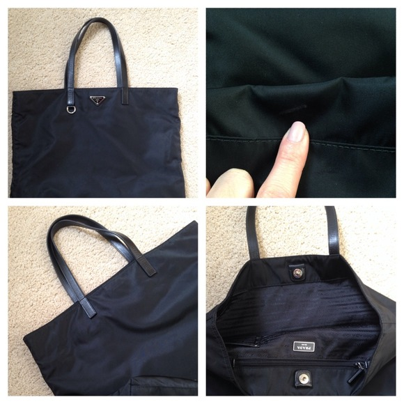 58% off Prada Handbags - Prada Vela Nylon Tote from E\u0026#39;s closet on ...