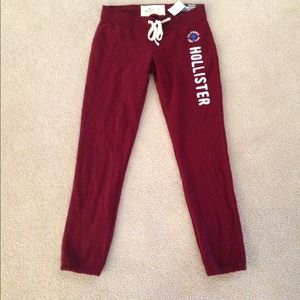 Hollister Pants - Hollister sweatpants nwt size M