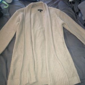 Beige cardigan. Size Small.