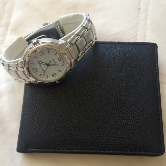 Cote d' azur mens watch pen & wallet gift set nib - Pinterest
