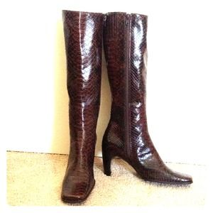 Enzo Angiolini tall leather boots NWOT