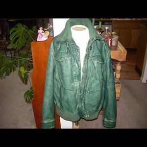 Jackets & Blazers - Faded Glory leather jacket. Size XL.