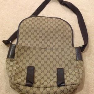 9741e4d7b20 Gucci Bags - Gucci Carrier Bag - RESERVED for fashionista951!