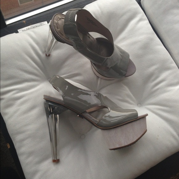 Rachel Roy Shoes - Rachel Roy lucite heels