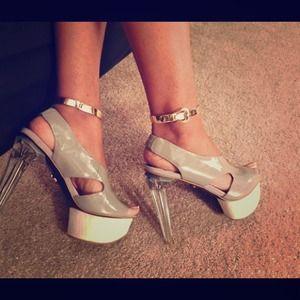 Rachel Roy Shoes - Rachel Roy lucite heels