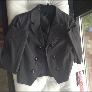 mossimo Jackets & Coats - Gray blazer cropped size med