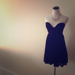 Black Tea Dress by Sabo Skirt