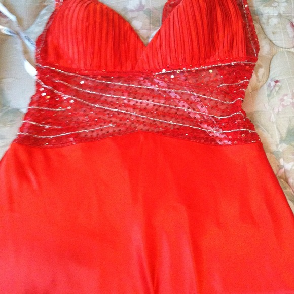 40 off dresses amp skirts red cinderella semi long prom