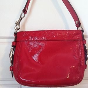 256d9b285d Coach Bags | Small Red Patent Leather Purse | Poshmark