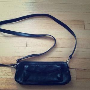 Latico Black Leather cross body bag