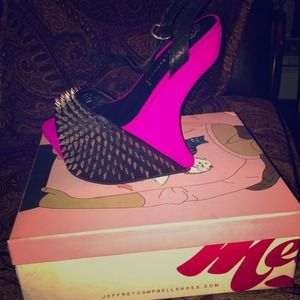 Jeffrey Campbell spiked shoes