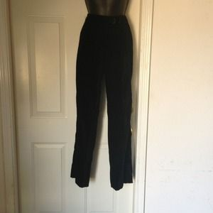 DKNY Velvet BLACK TROUSERS