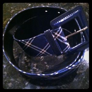 Accessories - Blue belt
