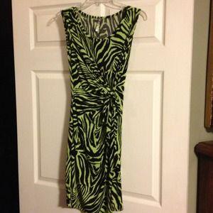 Dresses & Skirts - RESERVED CMKT Zebra print dress