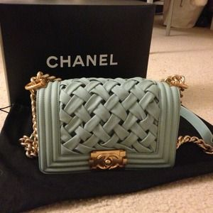 Boy Chanel Flap Bag Authentic