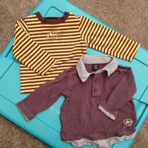 Baby boy Juicy Couture ad Baby Gap Shirts