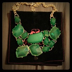 ❌Reserved❌ Baublebar Green Faucet Bib Necklace