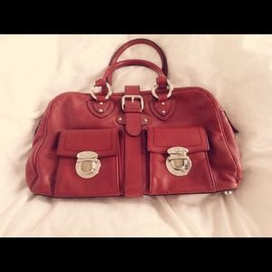 Marc Jacobs Pomegranate Venetia Bowler bag