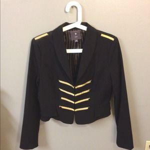 Military inspired blazer