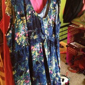 Never worn! Old navy! Blue! Summer dress!